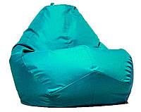 Овальное кресло - мешок  груша  Оксфорд 85*105 см С дополнительным чехлом, фото 1