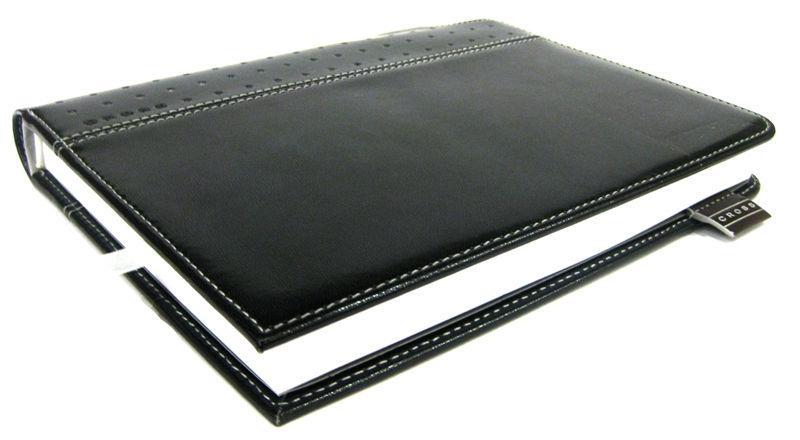 Блокнот А6 124л. Cross Signature + ручка Cross, черный Cr236-1s