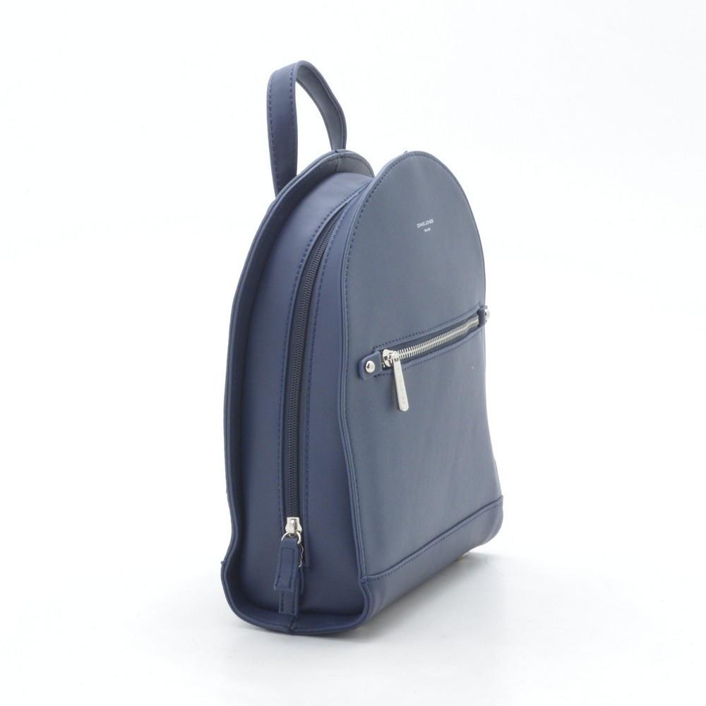 33d1d08e7a06 Стильный женский кожаный рюкзак D. Jones синий - bonny-style в Хмельницком