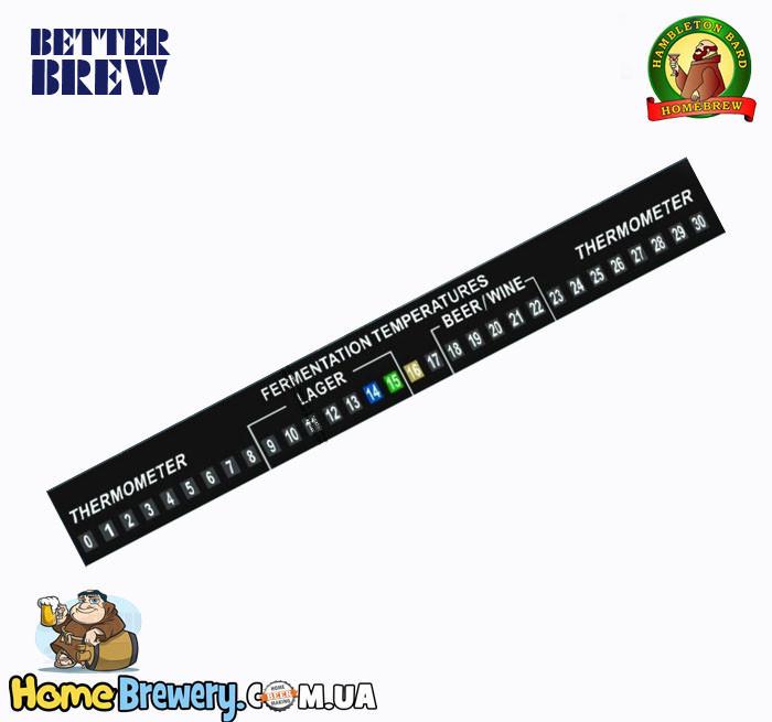 Термометр самоклеющийся Better Brew Full Range LCD Thermometer