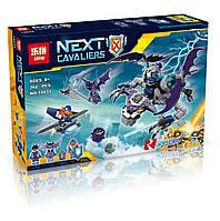 """Конструктор Lepin аналог LEGO NEXO KNIGHTS 70353 """"Летающая Горгулья"""" 362дет."""
