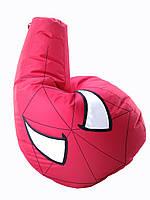 Большое Кресло-мешок груша Человек Паук. Оксфорд 90*130 см. С дополнительным чехлом, фото 1