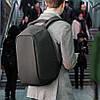Городской рюкзак xd design bobby антивор для ноутбука 15.6 (P705.541) черный, фото 5