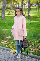 Кашемировое пальто для девочки . Размер 134, 140, 146, 152. В наличии 4 цвета, фото 1