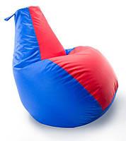 Кресло-мешок груша Комби. Оксфорд 300 D 65*85 см. С дополнительным чехлом, фото 1