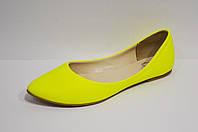 Балетки женские желтые Olli