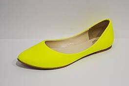 Балетки женские желтые Olli 34 размер