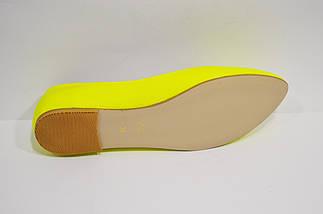 Балетки женские желтые Olli 34 размер, фото 2