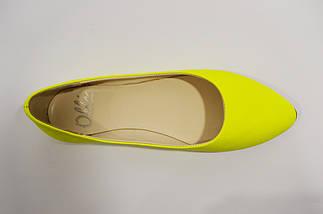 Балетки женские желтые Olli 34 размер, фото 3