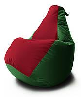 Большое Кресло-мешок груша Комби. Оксфорд 300 D 90*130 см. С Дополнительным чехлом
