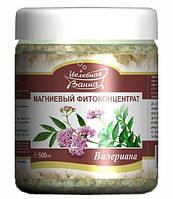 Бишофит Полтавский Магниевый фитоконцентрат Валериана - для приема ванн и ванночек , 500 мл. Полтава, фото 1