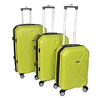 Набор их 3 х чемоданов Kaiman