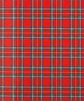 Термонаклейка для ткани Шотландка 15*20см KI-SIGN