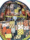Джинсовий рюкзак Стіч, фото 4