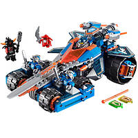 """Конструктор Nick Knights 2в1 (LEGO Nexo Knights) """"Устрашающий разрушитель Клэя / Королевский робот-броня"""" 432"""