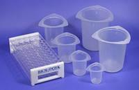 Лабораторная посуда пластиковая