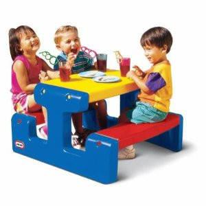 Столик для пикника синий Little Tikes, фото 2