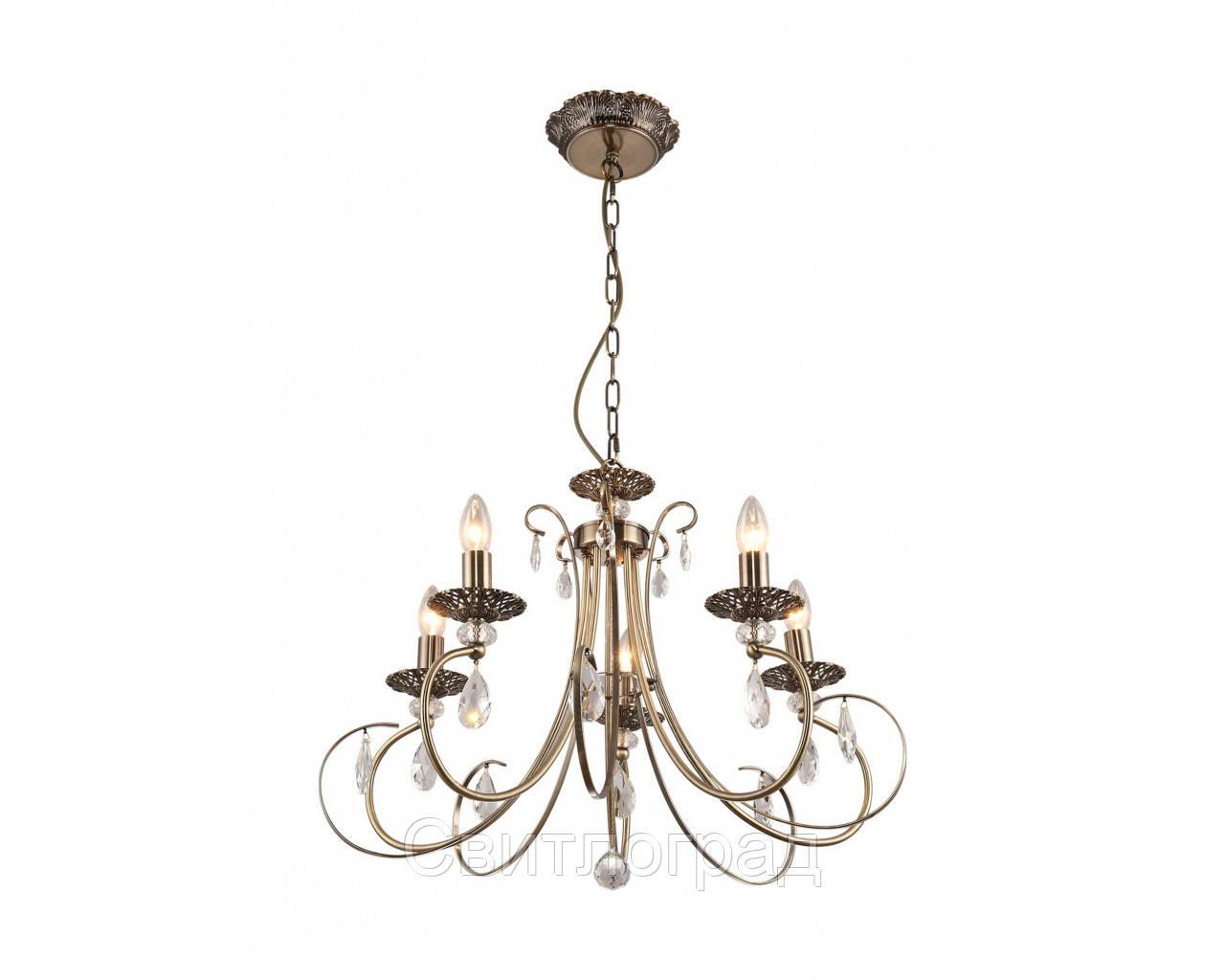Люстра Свеча  Классика  Altalusse INL-1099Р-05 Antique Brass