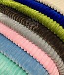 Отрез плюш в полоску Stripes, цвет шоколадный 100*80, фото 5