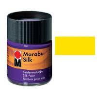 Краска для росписи шелка MARABU 50мл 178005019 Желтая