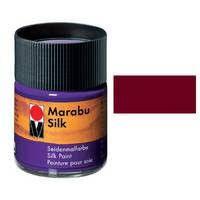 Краска для росписи шелка MARABU 50мл 178005034 Бордо