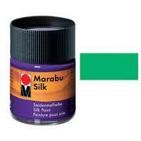 Краска для росписи шелка MARABU 50мл 178005062 Травяная зеленая