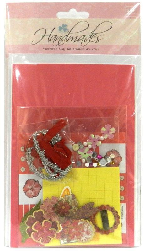Набор открыток и украшений для скрапбукинга EnoGreeting SKF-003 3шт