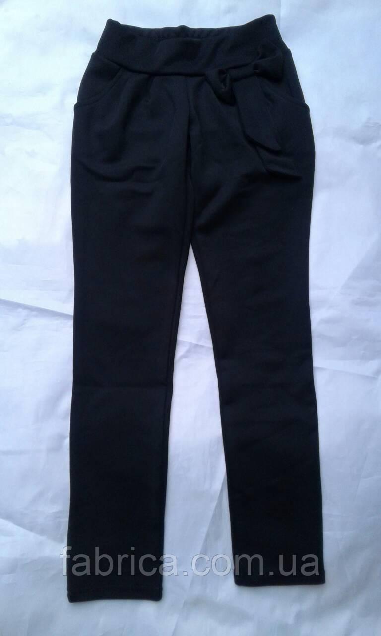 Лосины брюки с бантом для девочек размеры 122-146