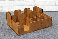 Органайзер барный двухъярусный, орех, фото 1