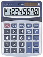 Калькулятор OPTIMA 8 разрядов 160*118*41мм 75504