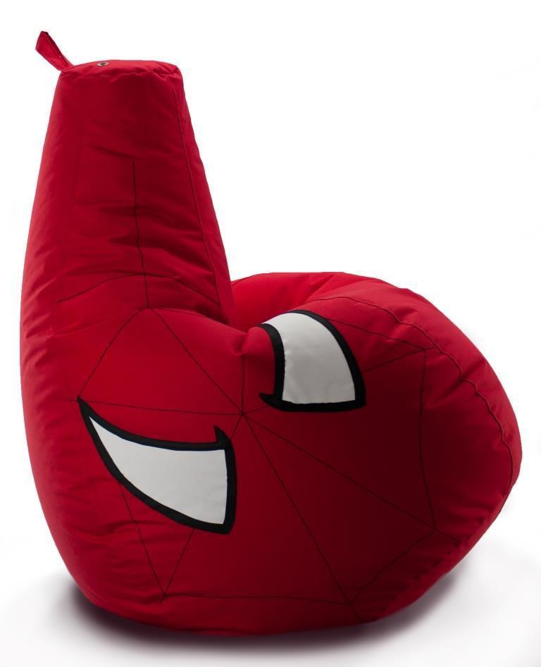 Кресло-мешок груша Человек Паук. Оксфорд 85*105 см. С дополнительным чехлом