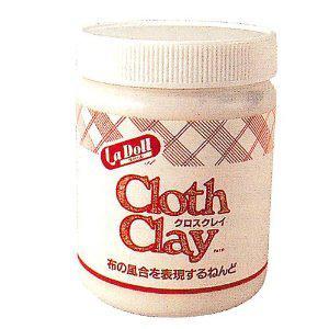 Глина полимерная Padico жидкая 600гр для кукол Cloth Clay 1573103