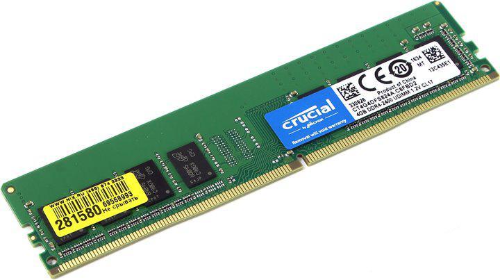Оперативная память 4GB Micron Crucial (CT4G4DFS824A)