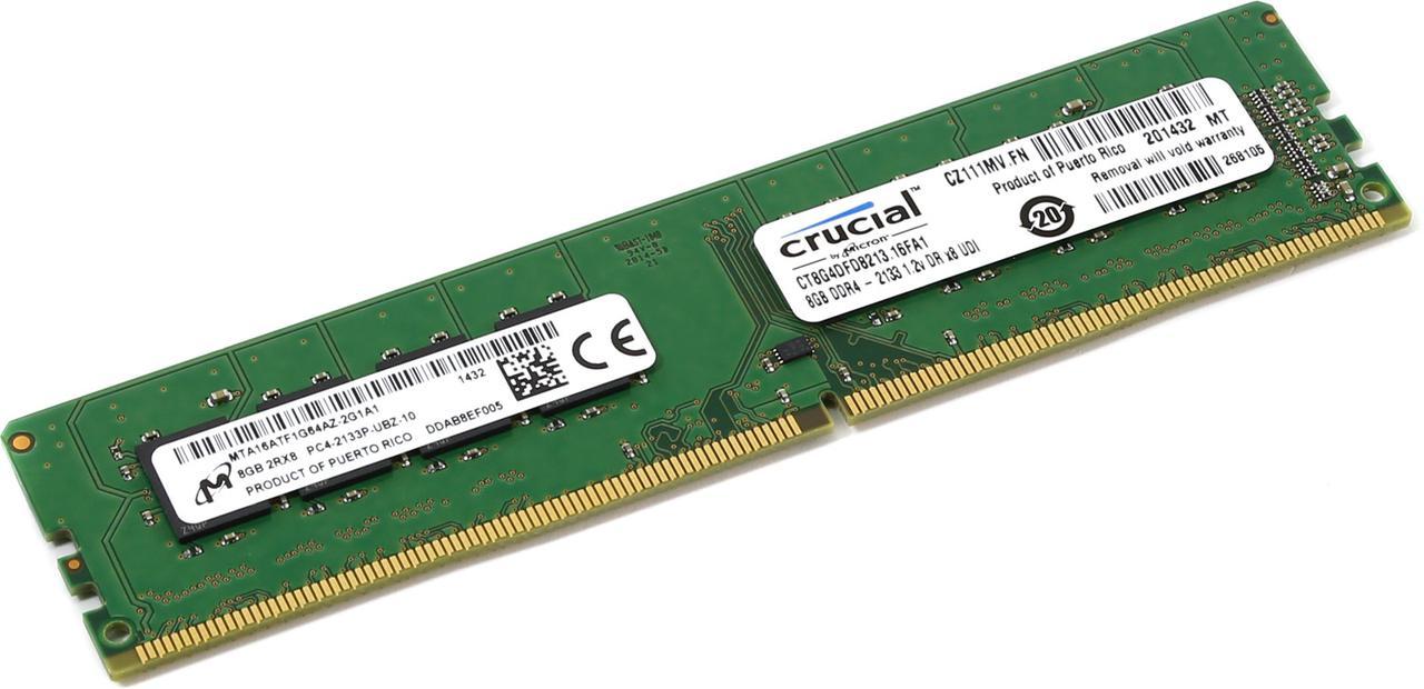 Оперативная память 8GB Micron CT8G4DFD8213