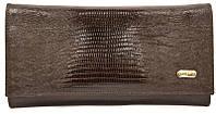 Кошелек кожаный Canpellini 346-143 Лазер коричневый