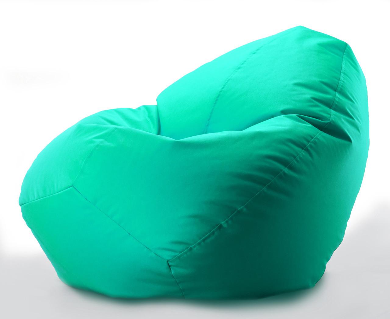 Большое овальное кресло - мешок  груша  Оксфорд 300 D 90*130 см
