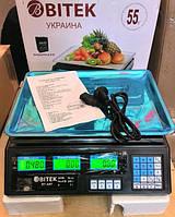 Торговые весы Biтek  до 55 кг