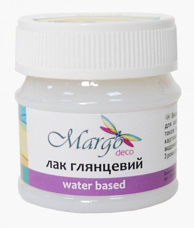 Лак глянцевый на водной основе Margo Glossy 50мл 005169