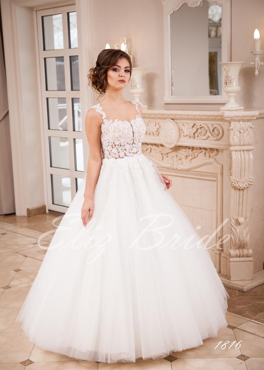 9451dbefa3b Свадебное платье 2018 . прозрачная майка с V-вырезом - Eliz Bride в  Черновцах