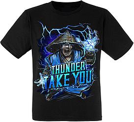 """Футболка Mortal Kombat """"Thunder Take You"""" (Raiden)"""
