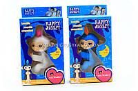 Интерактивная ручная игрушка обезьянка Fingerlings Monkey (аналог) 565659 - 2 цвета