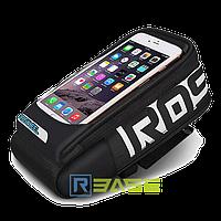 """Велосипедная сумка на руль для смартфонов до 5.7"""" Roswheel 111272"""