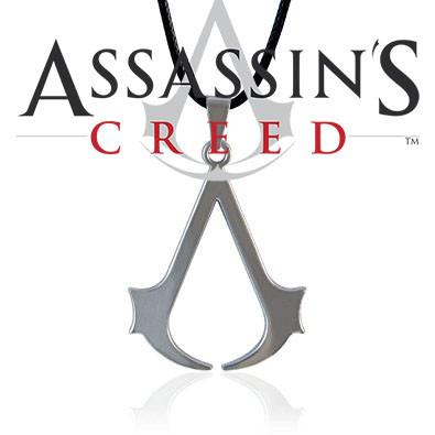 Кулон Кредо Ассасина Assassin's Creed НЕРЖАВЕЙКА