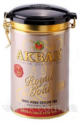 Чай Акbаr Royal Cold 150 гр.жестяная банка