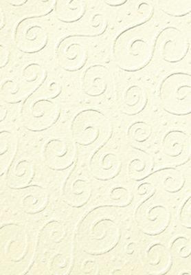 Бумага для скрапбукинга Heyda А4 220г/м2 204772620 с тиснением Милан шампанская