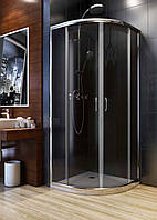 Душевая кабина Aquaform NIGRA 80х80х185 графит, фото 1
