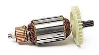 Якорь тст-н дисковой пилы Интерскол 1900, Einhell FKS-210 2000 Вт (50.5*187 мм, Z7 вправо)