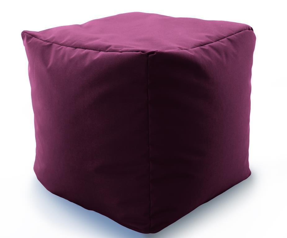 Кресло мешок, пуфик, кубик Микро-рогожка 50*50*50 см. С дополнительным чехлом