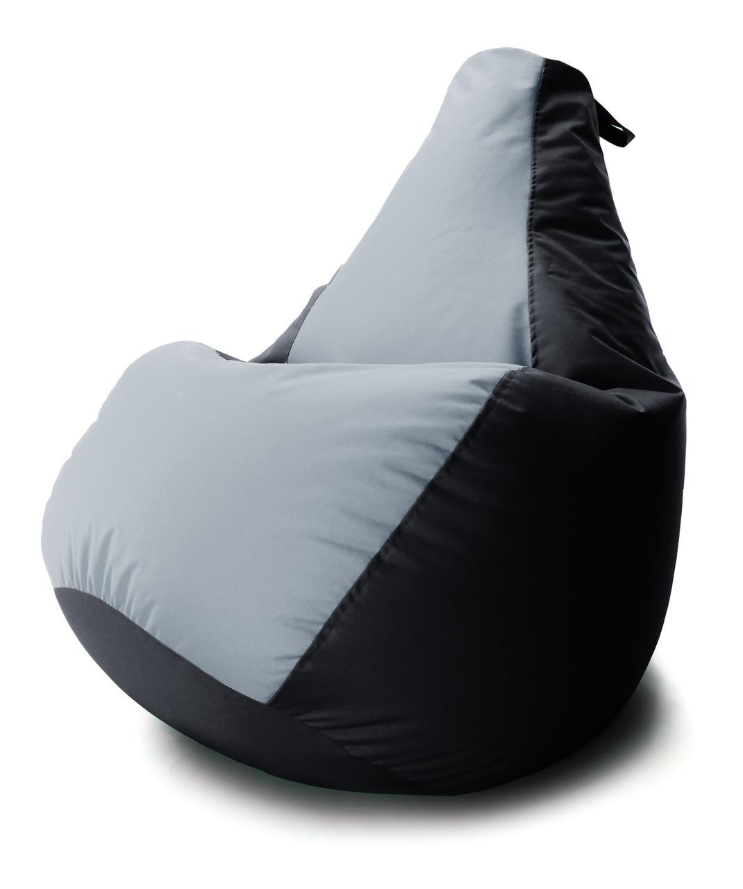 Величезне Крісло-мішок груша Комбі. Оксфорд 100*140 див. З додатковим чохлом