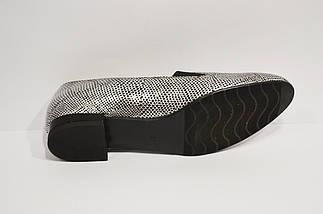 Туфли женские серебристые Vanilla 1200, фото 2